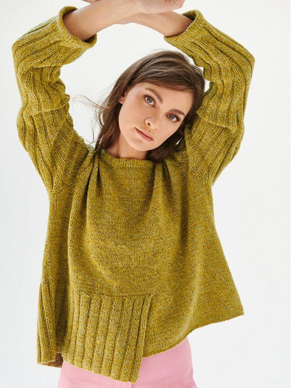 Photo of Lana Grossa PULLOVER Mary's Tweed – FILATI CLASSICI No. 17 – Modell 18 | FILATI.cc Onlineshop