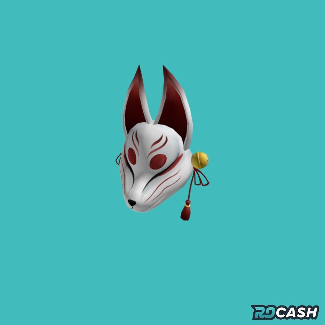 Want To Get The Eternal Kitsune Mask For Free You Can Earn Robux On Rocash And Withdraw Directly To Your Roblox Account Click The In 2020 Kitsune Mask Roblox Kitsune