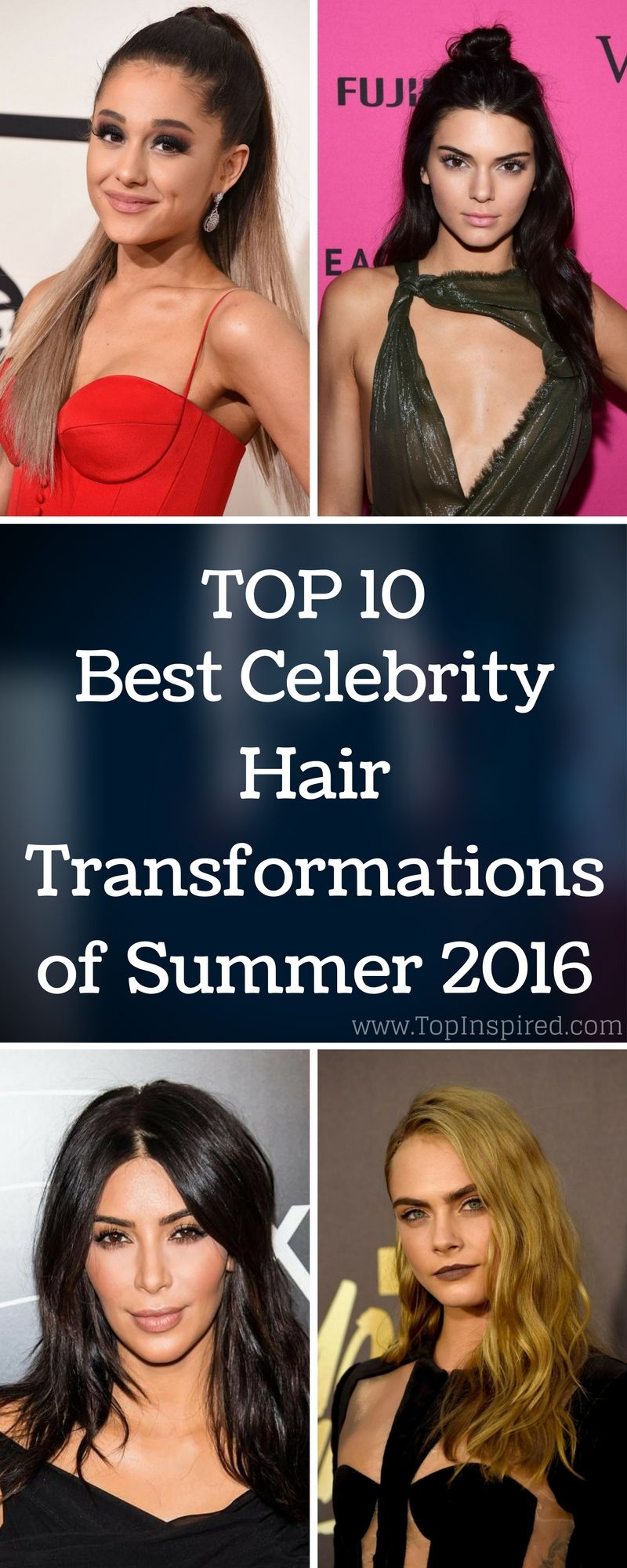 The trends change each year and celebrities are usually the ones setting them. #HairStyle via @Topinspired