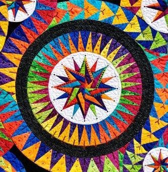 JdJ Enchanted Stars PATTERN ONLY Paper Piecing Quilt Pattern by