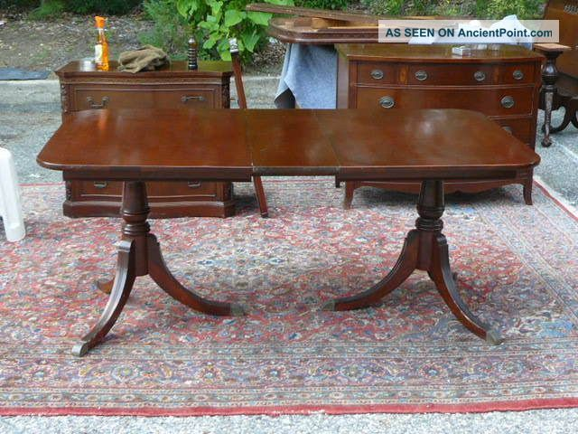 630860d44efe We have this - My great grandmother s - Antique Mahogany Duncan Phyfe  Traditional Dining Table With Leaf 1900-1950 photo