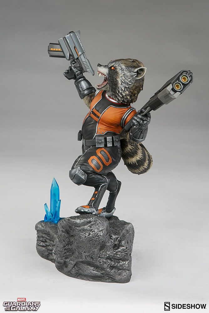 Marvel Rocket Raccoon Premium Format(TM) Figure by Sideshow   Sideshow Collectibles