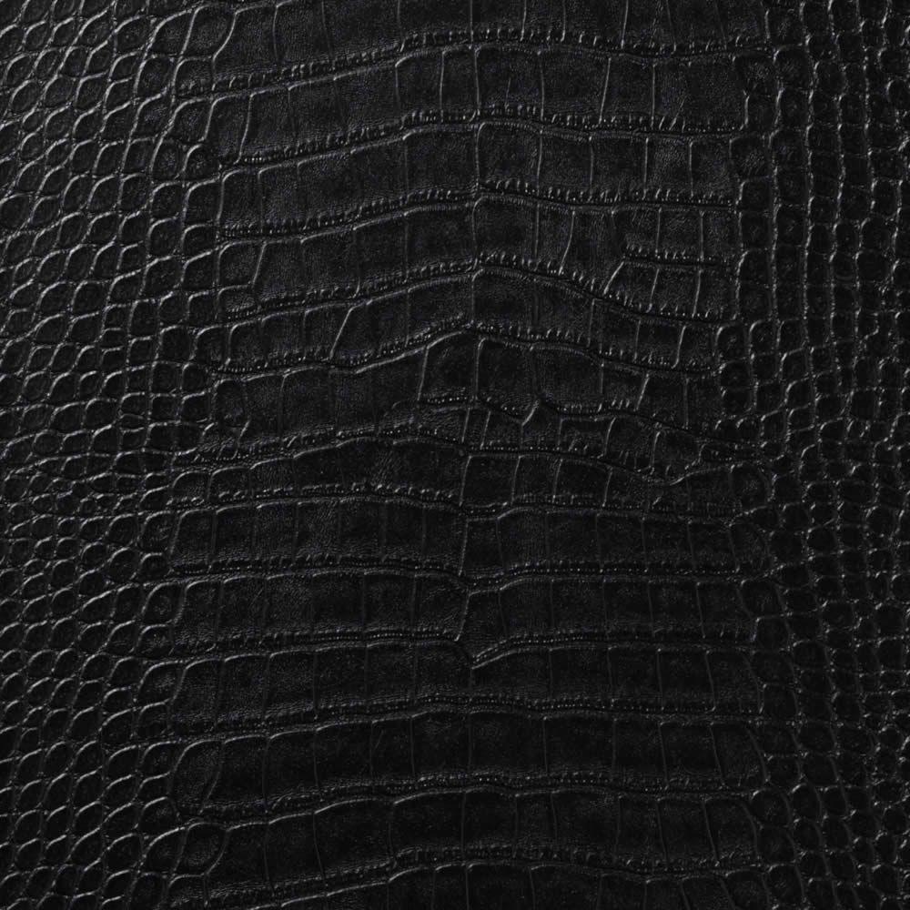 Lec 5010 Le Embossed Croc Black Vinyl Wallcoverings Wall Coverings Black Wallpaper