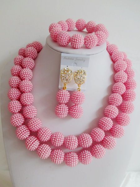 Find More Jewelry Sets Information about Luxury African beads jewelry set pink Imitation pearl beads bride jewelry nigerian wedding african beads jewelry Set G 112,High Quality jewelry clip art free,China jewelry fabric Suppliers, Cheap jewelry chamilia from Chinese jewelry import and export co., LTD on Aliexpress.com