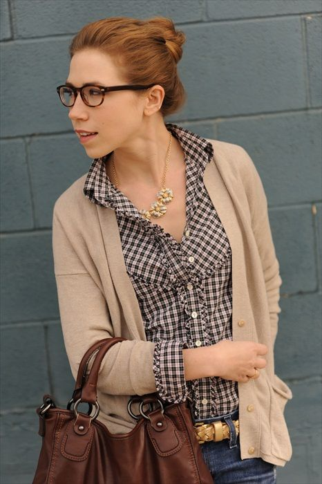 plaid-shirt,sweater