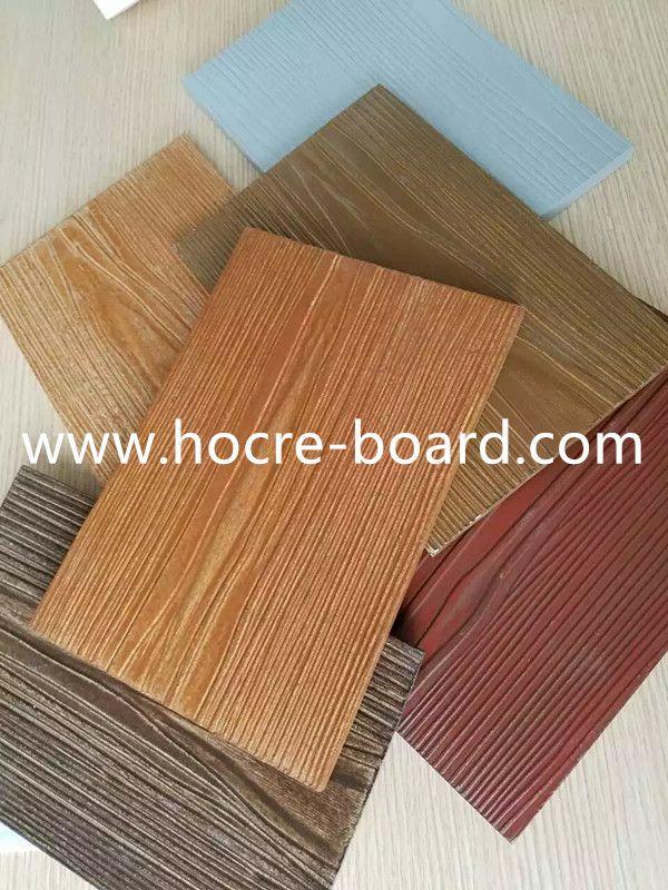 Colored Fiber Cement Wooden Grain Board Fiber Cement Fiber Cement Siding Fiber Cement Board