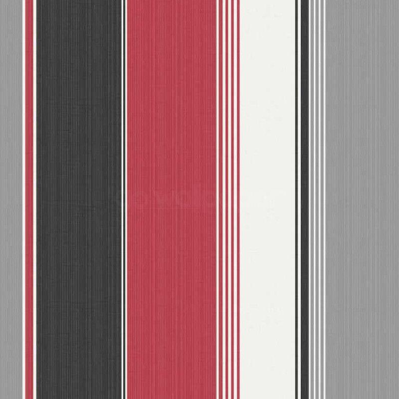 Debona Stripe Red Black Silver Wallpaper Http Www Godecorating Co Uk Debona Stripe Red Black Silver W Black And Silver Wallpaper Black Silver Wallpaper