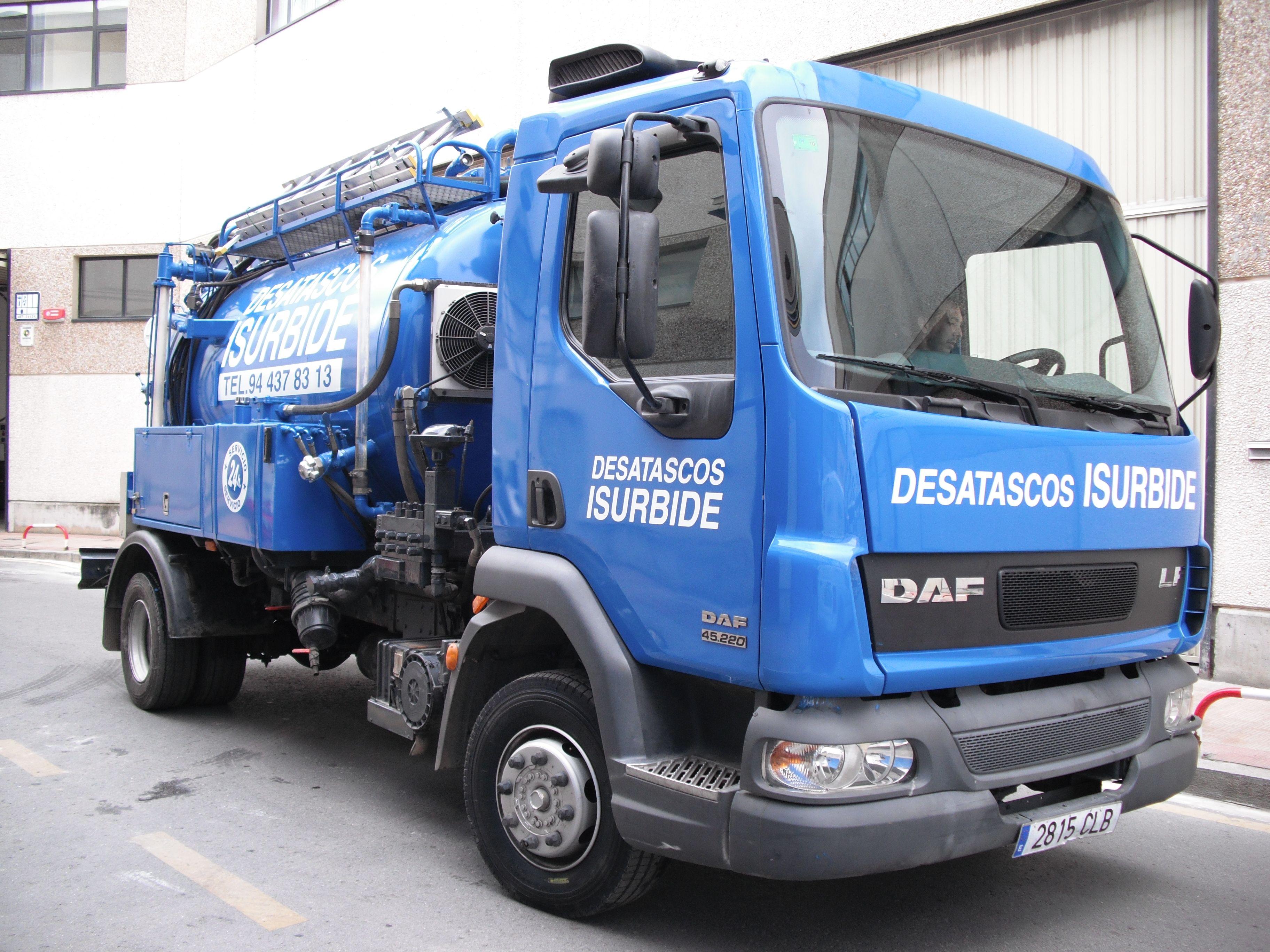 Camión Desatascos Isurbide