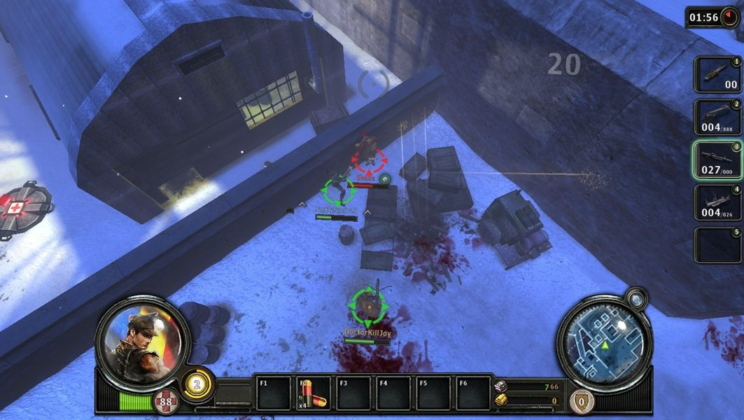 Warkeepers is a Free to play, top-down perspective Role Playing Shooter MMO Game in an alternate version of World War II.  http://mmoraw.com/index.php?option=com_content=article=372:warkeepers=3:shooter-mmos=4