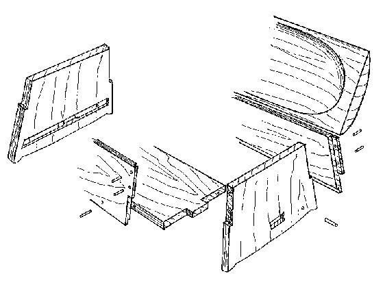 Viking Chest Sven Skildbiter Vikings Viking Tent Woodworking Plans Patterns