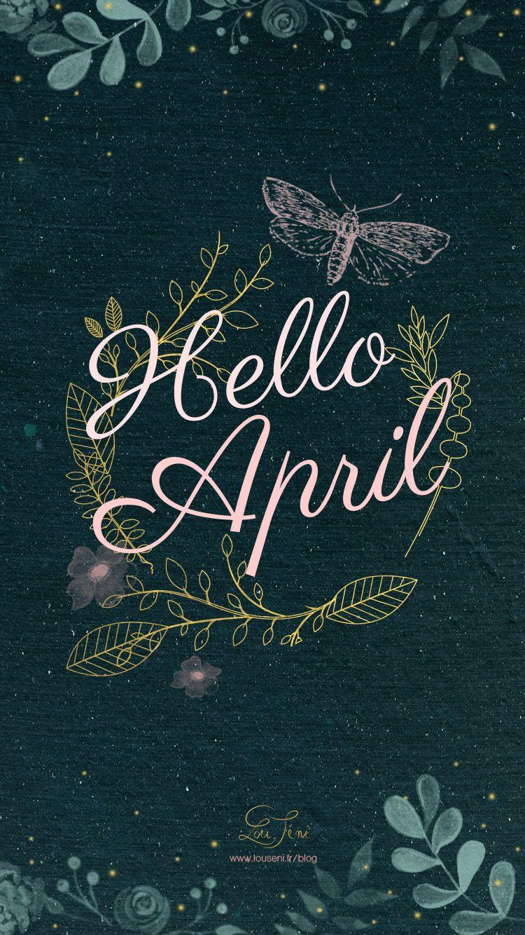 Hello April Seni inspirasi, Objek gambar, Latar belakang
