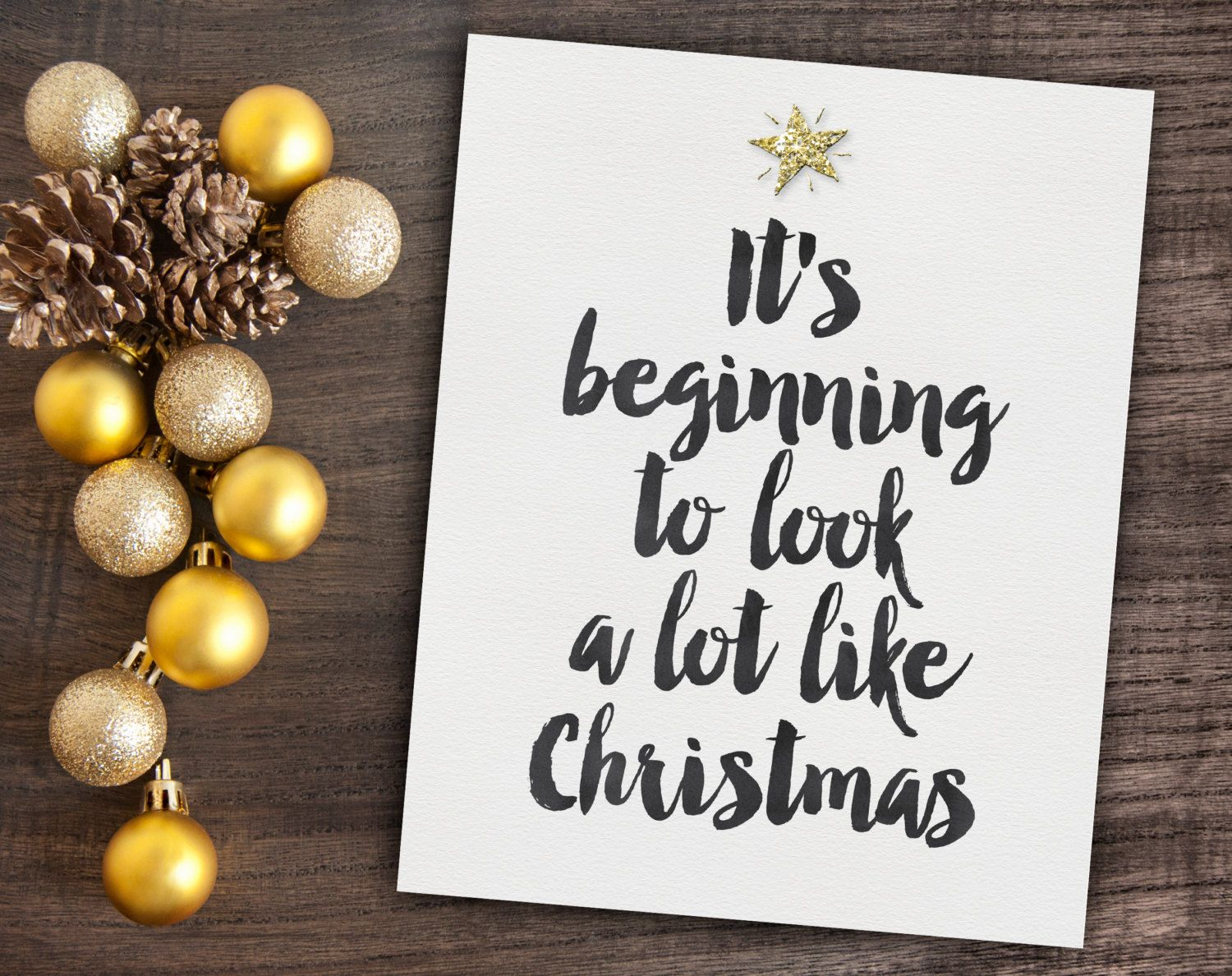 Instant Download Christmas Decor - Quote Digital Print - Christmas ...