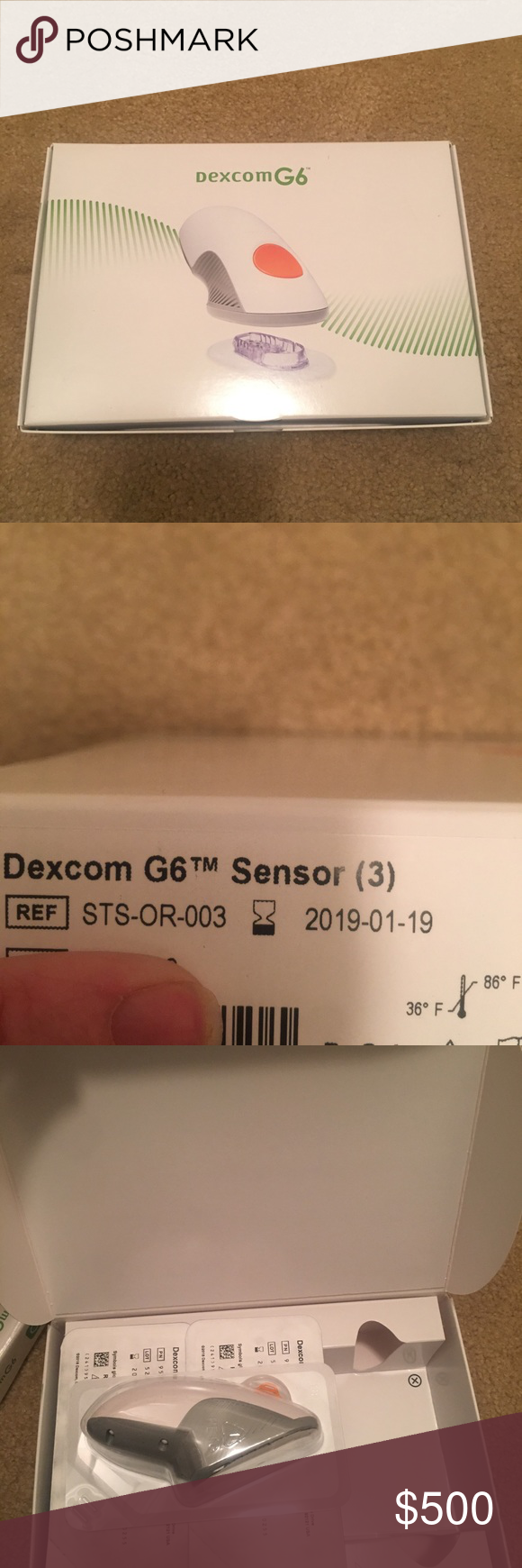 G6 Sensors Brand New box of G6 Sensors box