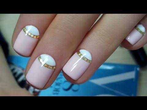 Видео дизайна ногтей гель лаком