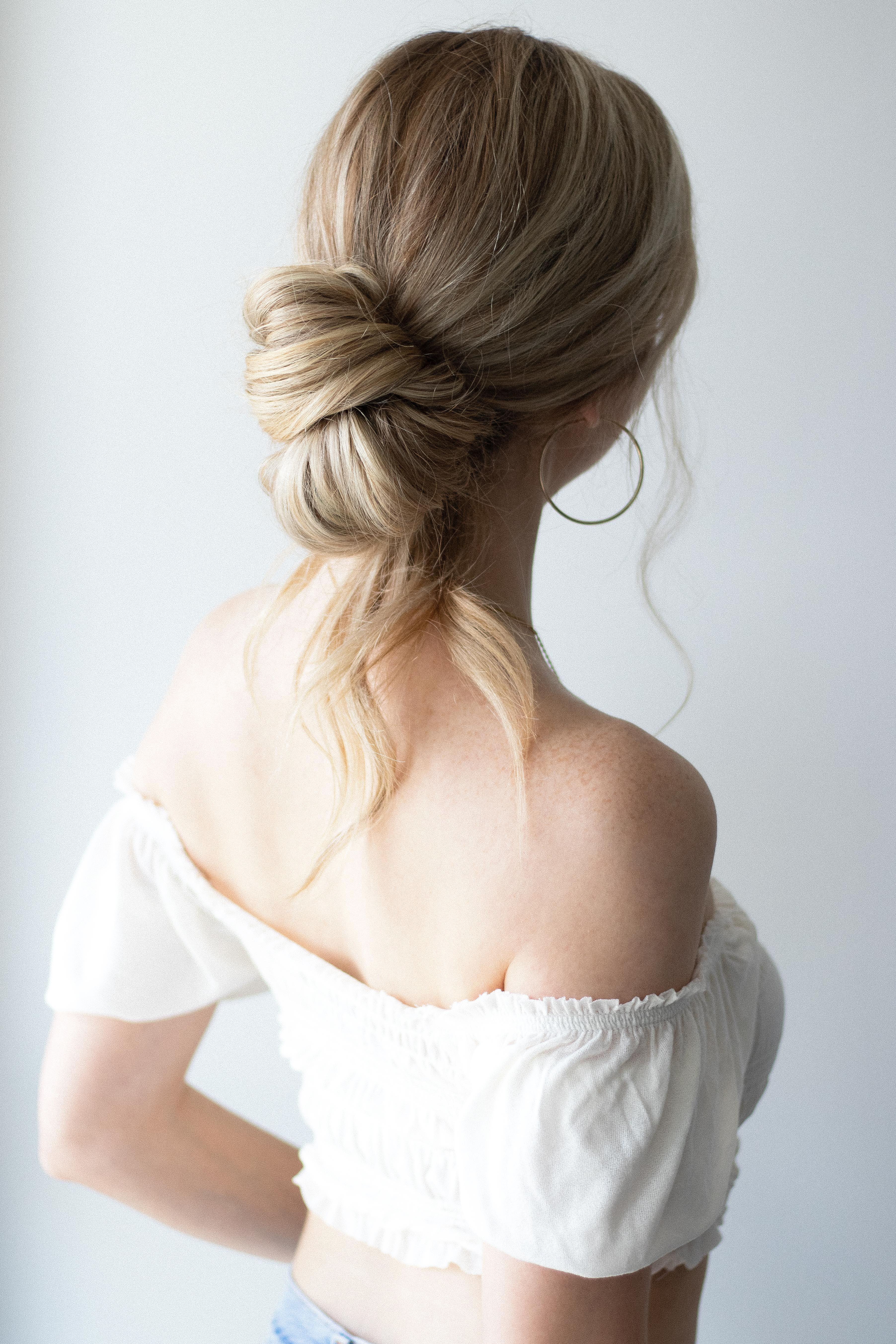 HOW TO: EASY EVERYDAY UPDO WITH VOIR HAIRCARE #updotutorial