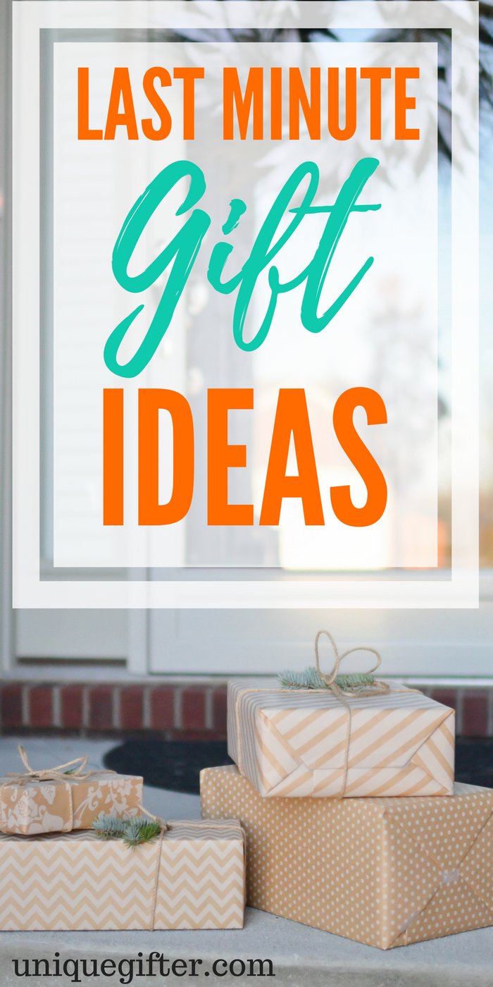 Last Minute Gift Ideas | What to buy when you're in a rush | Emergency gift ideas | Presents to get at the last minute | Birthday presents that are quick ...