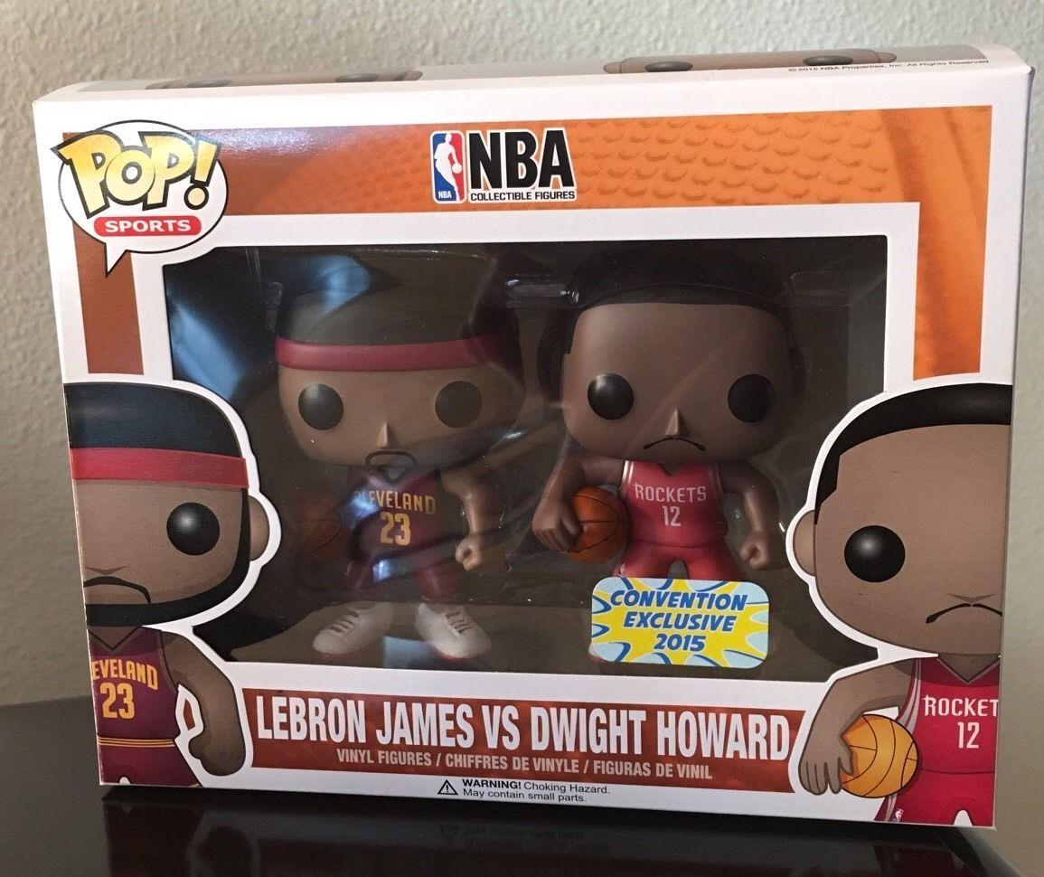 Funko POP NBA Lebron James VS Dwight Howard Convention Exclusive 2015
