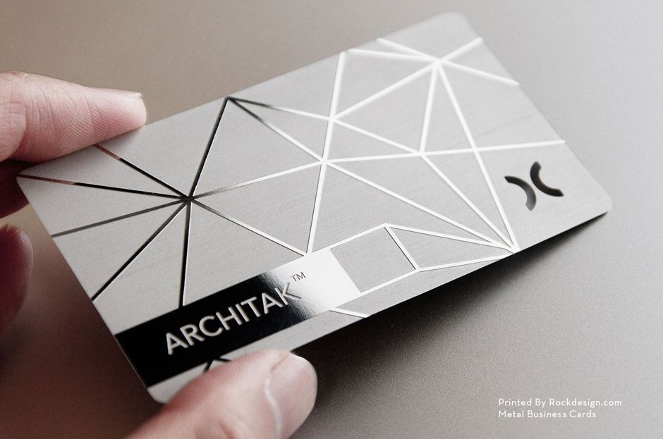 RockDesign.com | High End Business Cards | Stainless Steel Business ...