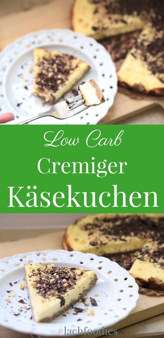 cremiger low carb k sekuchen rezept essen low. Black Bedroom Furniture Sets. Home Design Ideas