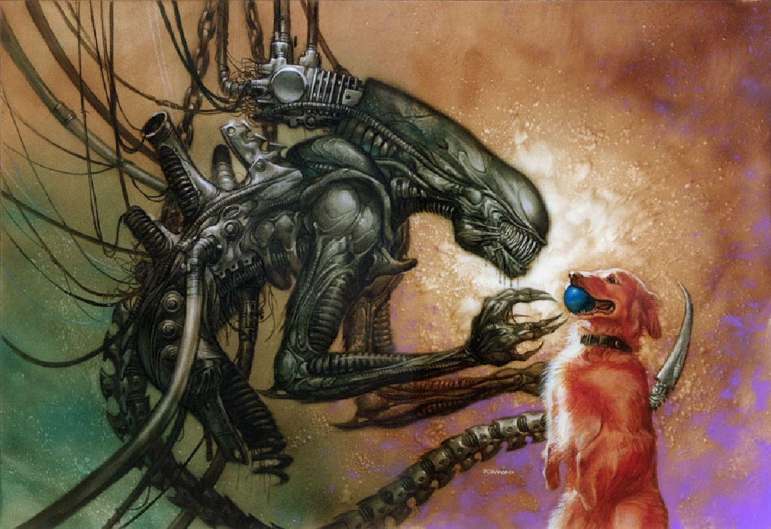Dave dormandid a lot of painted covers for dark horse