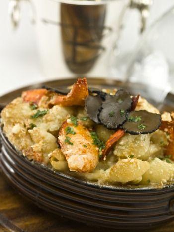 Barton G.'s Lobster Mac & Cheese recipe! I don't eat ...