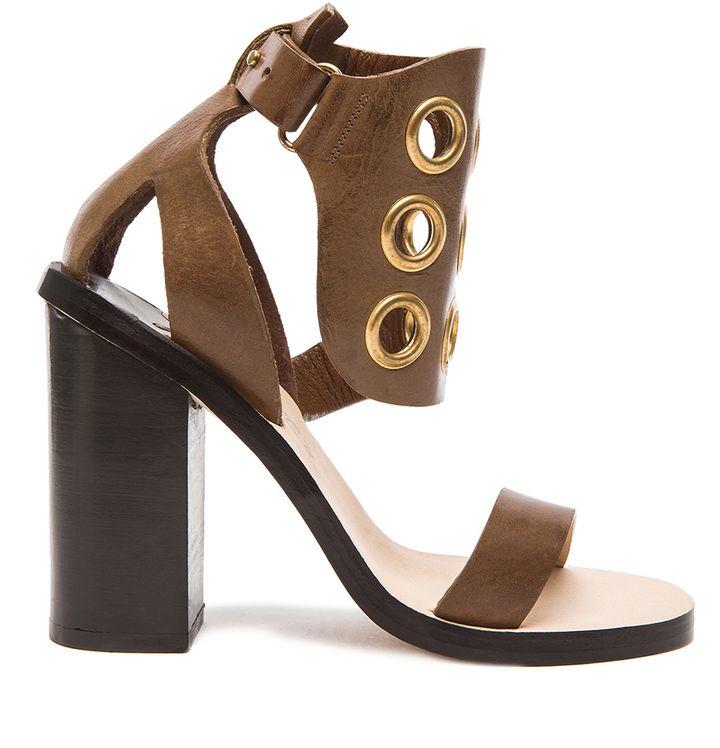 By Malene Birger Subki Leather Heels | Leather heels, Heels