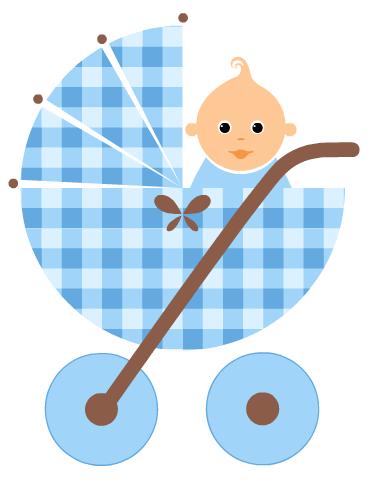 Baby Boy Clip Art : Clipart, Shower, Clipart,, Printables