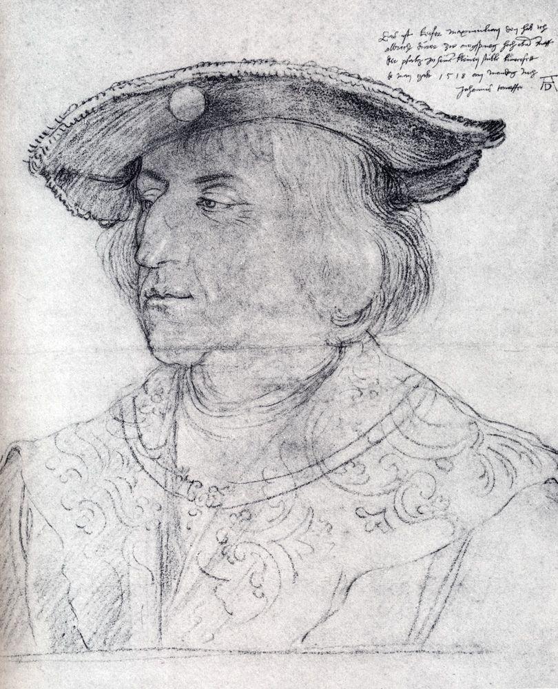 Albrecht Dürer - Portrait of Emperor Maximilian I