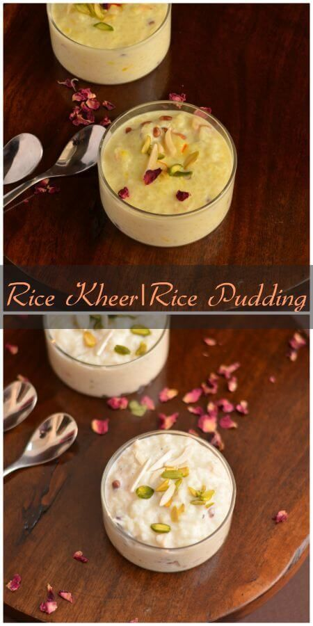 Rice Kheer Recipe   Indian Rice Pudding   How To Make Rice ...