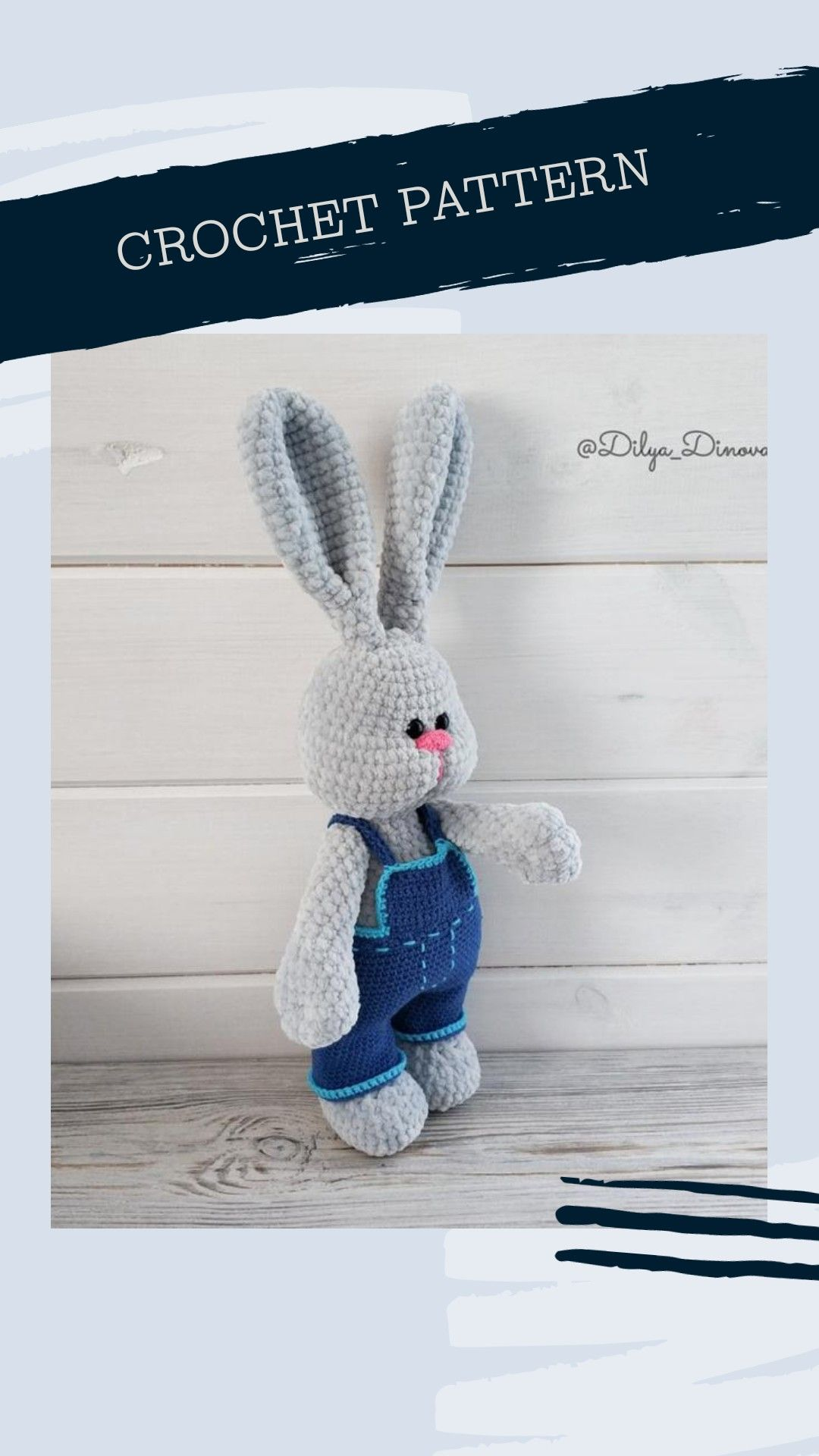 At the present pattern i describe and show how to crochet