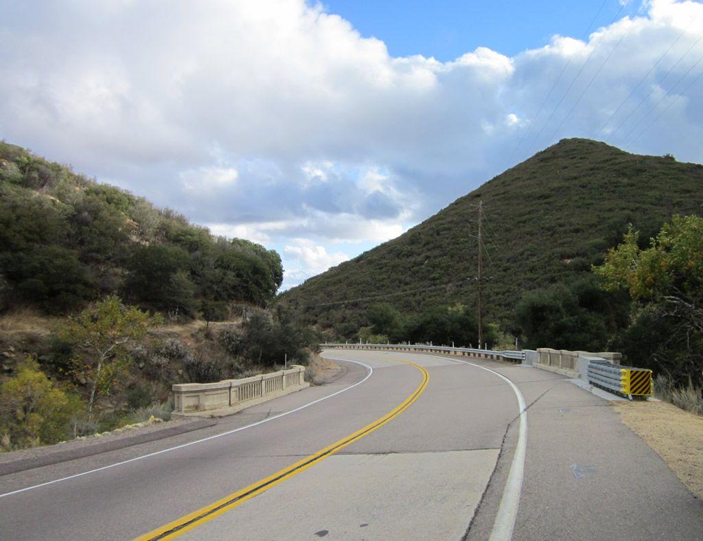 Historic U.S. Highway 80 East 4 California travel road