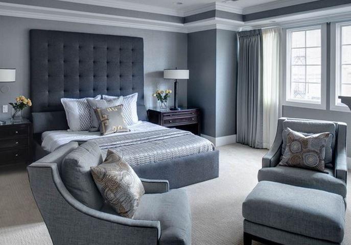 chambre gris | Déco | Pinterest | Chambre grise, Gris et Chambres