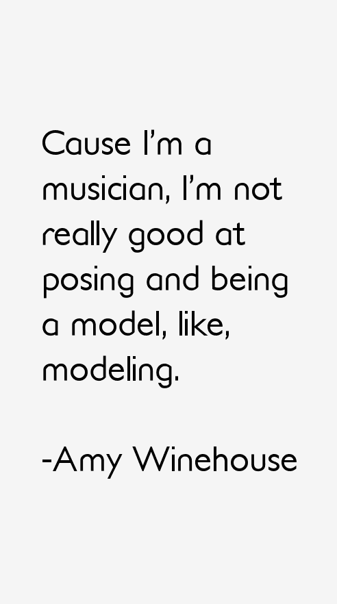 Amy Winehouse Quotes Cytaty