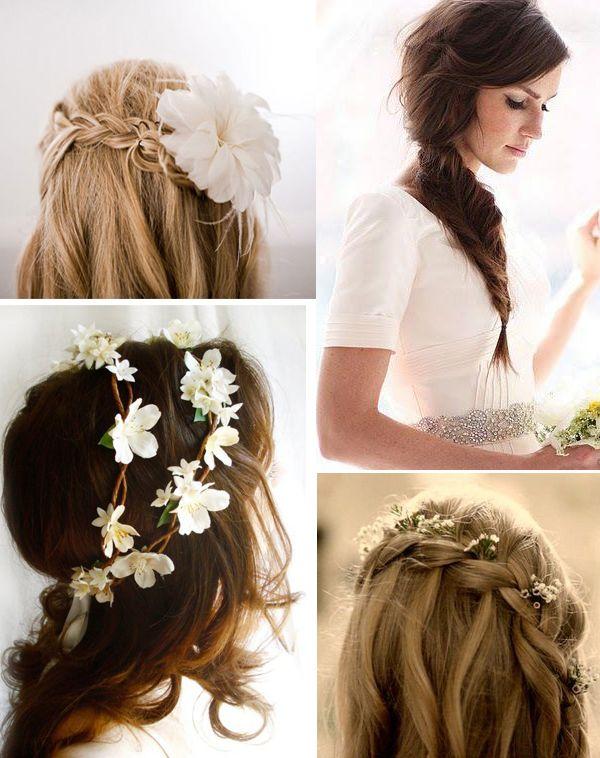 coiffure mariage fleur naturelle recherche google chapeaux et coiffures pinterest. Black Bedroom Furniture Sets. Home Design Ideas