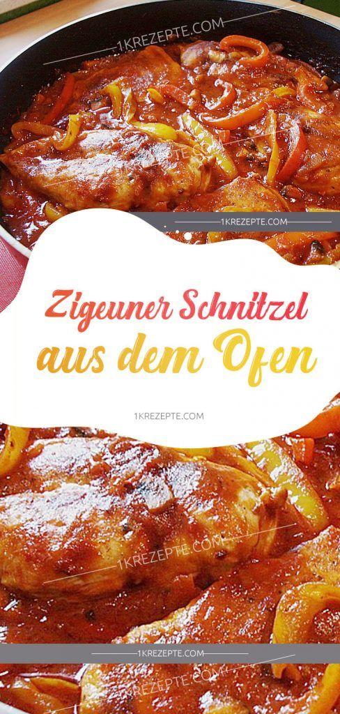 Zigeuner Schnitzel aus dem Ofen - 1k Rezepte #recipeforbananapudding