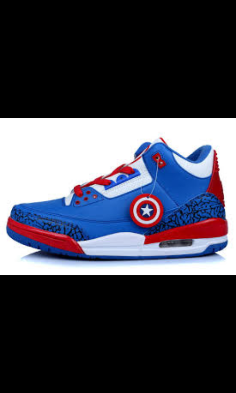 new style 4350f c6d8f Captain America Jordans, Nike Air Jordans, Jordans 2014, First Air Jordans,  Shoes