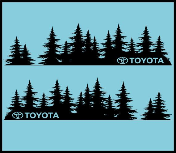 Subaru tree forest vinyl decal sticker outback forester WRX Impreza legacy JDM