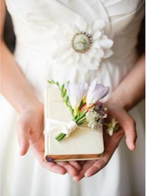 Southern Wedding Tradition White Bible