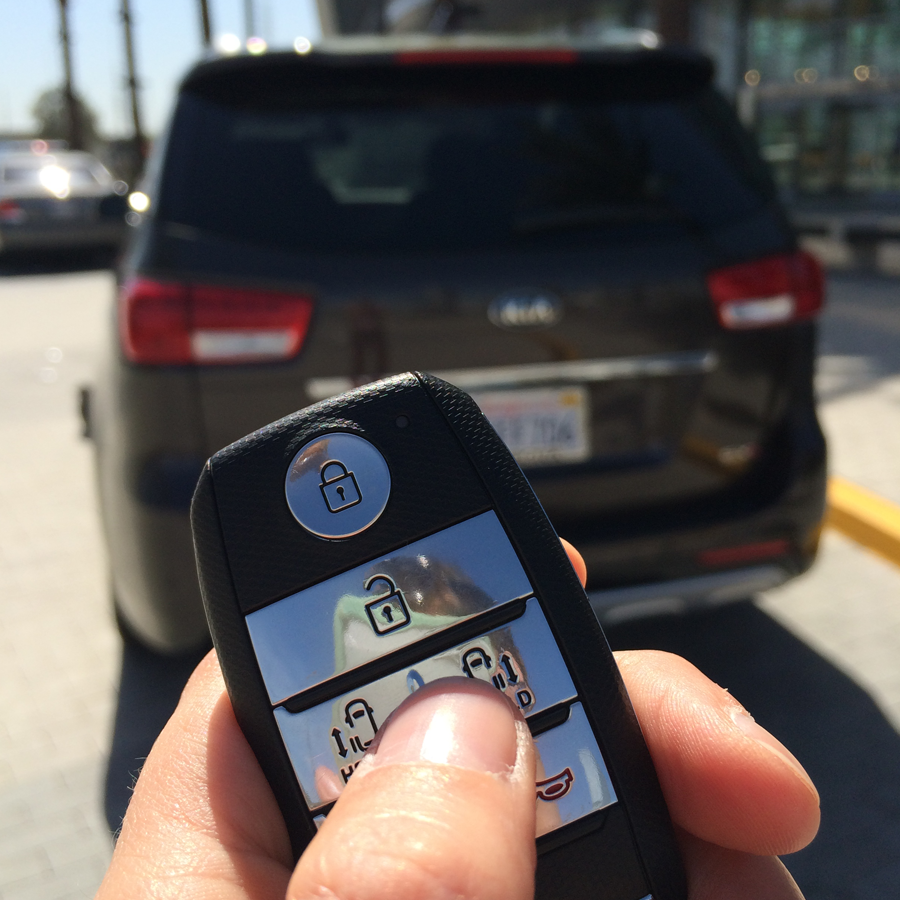 Open the doors with the touch of your key fob simple and convenient see