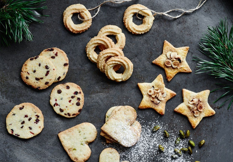 1 dej og 4 slags lækre småkager