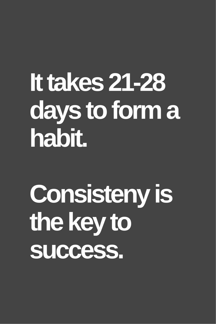Consistency Is The Key To Success Best supplements for