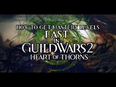 Guild Wars 2: HoT Mastery Leveling Guide! | Guild Wars
