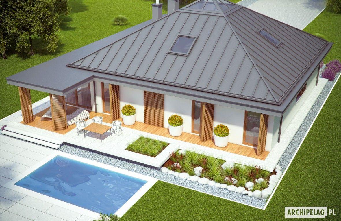 Captivating Projekty Domów ARCHIPELAG   Lorena G2 · HausFassadenWohnenModellHaus Pläne