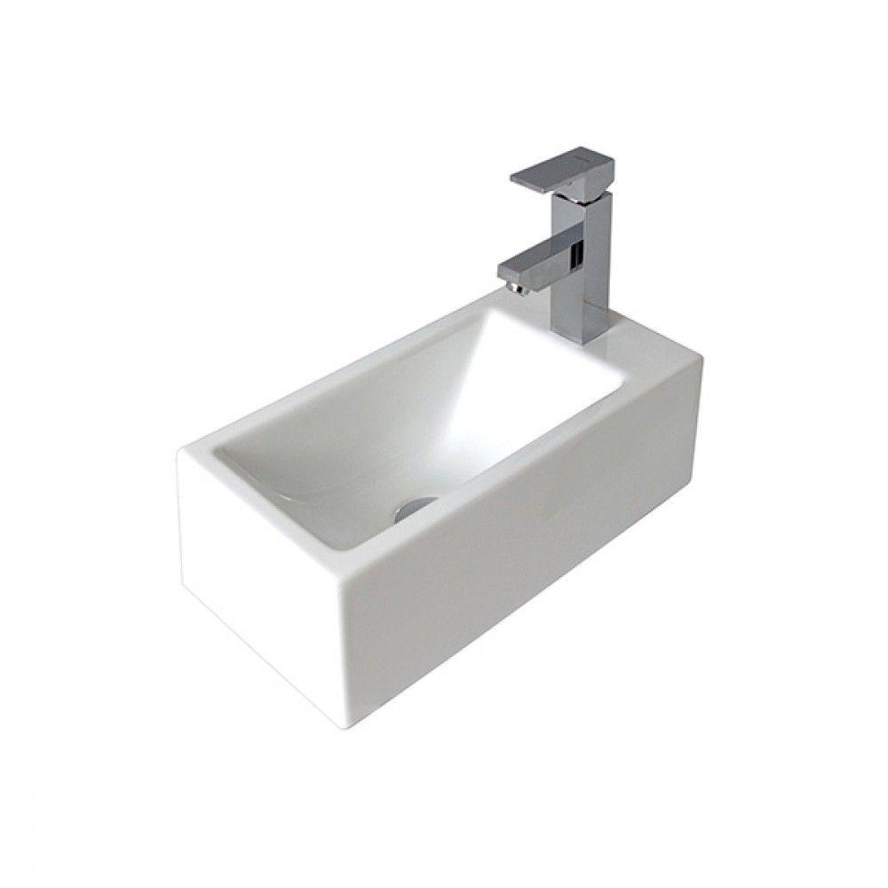 The Seima Plati Rectangular Compact Above Counter Wall Basin Model Online Wide Range Of Bathroom Basins Delivered Australia At Blue