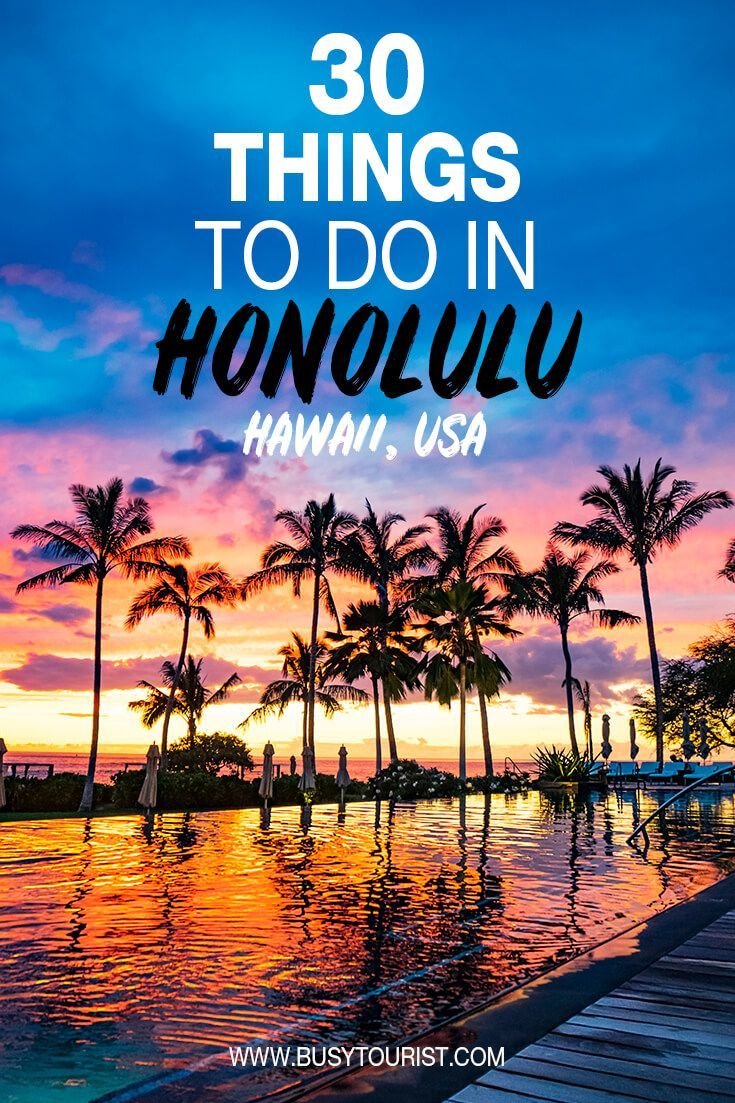 30 Best & Fun Things To Do In Honolulu (Hawaii)