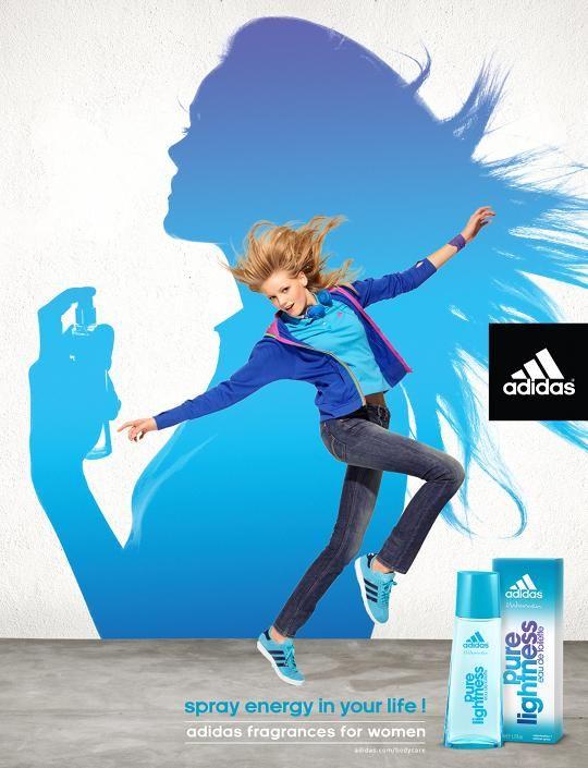 La pubblicità adidas fragranza per le donne da y & r parigi 2011