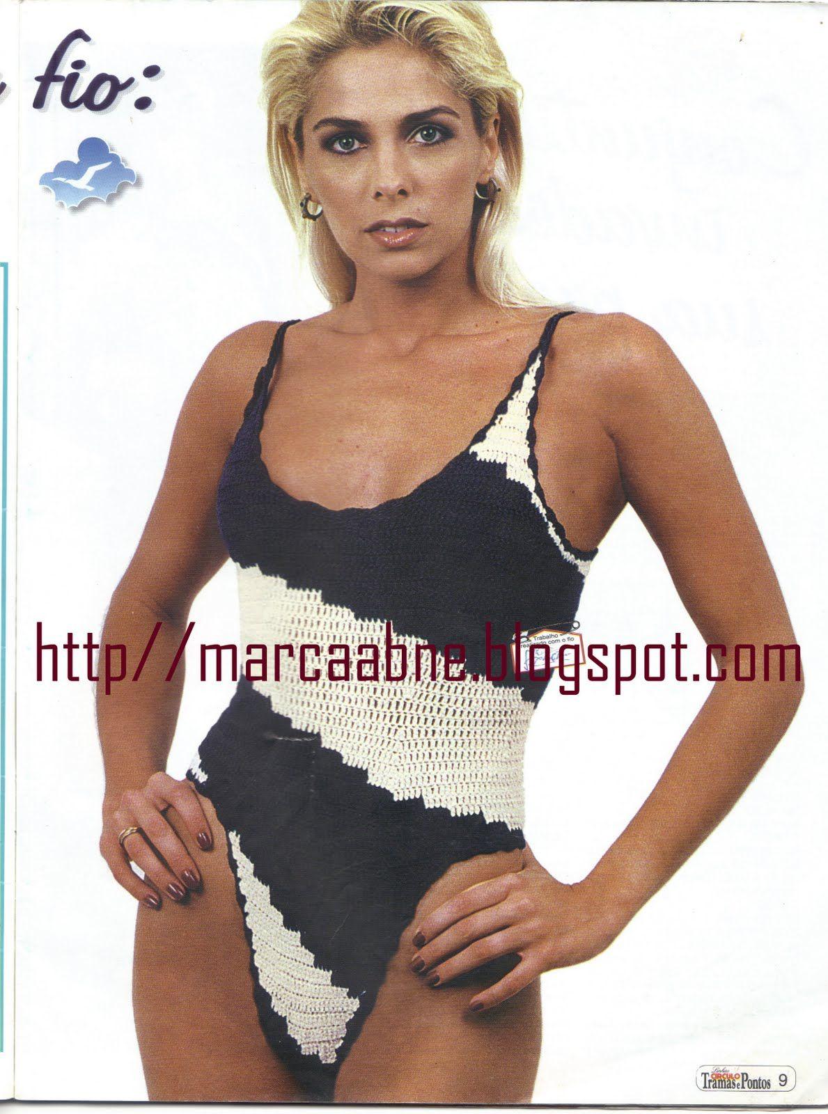 Marcinha crochê: Receita de maiô ou body em crochê