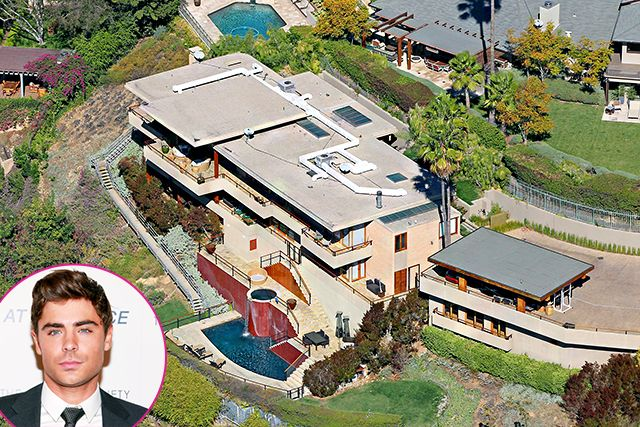 Celebrity real estate zac efron real estate and square feet for Celebrity houses in los angeles