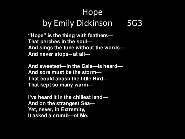 emily dickinson style and themes