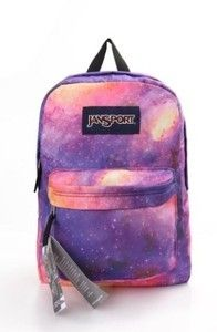 3b651d04d40d Galaxy Space Vintage Jansport Canvas Backpack Uban .galaxy backpacks for  girls